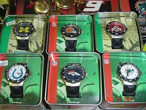 Chicago Bears    watch by game time adult size free extra batteries