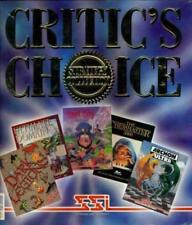 Critic's Choice + THICK Rule Book PC CD 5 games! Dark Legions, Archon Ultra, etc