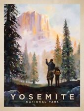 "Yosemite Vintage Art Poster Travel Photo Fridge Magnet 2""x 3"" Collectible"