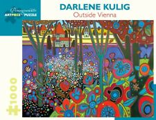 Pomegranate Jigsaw - Outside Vienna by Darlene Kulig (1000 pieces)