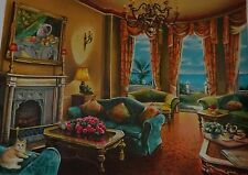 Anatoly Metlan Limited Ed. Serigraph Numbered 153/490 Hand Signed with with COA.