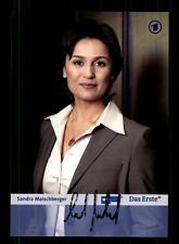 Sandra Maischberger Autogrammkarte Original Signiert # BC 97008