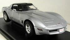 Nex 1/18 Scale 1982 Chevrolet Corvette Coupe in Silver Diecast model car