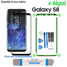 Kit de Réparation Samsung Vitre Verre Galaxy S8 NOIR Avant écran Remplacement