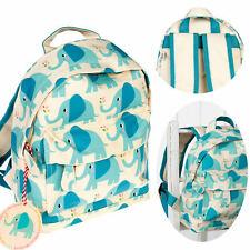 42815033bb57b Kinder Schulrucksack Elefant Türkis Blau 28cm Kindergarten-Rucksack  Schultasche