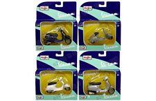 Maisto Motorcycles 1:18 Vespa Assortment 4 Styles In Set Die-cast 31540