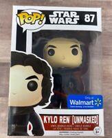 Funko POP Star Wars #87 Kylo Ren (Unmasked) Walmart Exclusive H022
