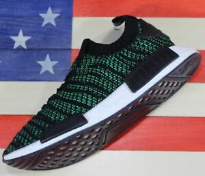 Adidas Originals NMD R1 Boost Men's Training Shoe Night-Cargo/Green/Cargo AQ0936