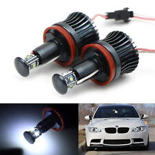 Can Fit BMW Canbus Angel Eye E87 E92 H8 HALO RING 20W LED White Light Bulbs E5