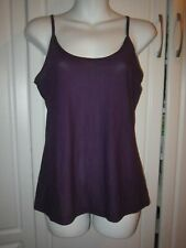New with $36 Tags Women Purple Light Layering Tank Cami top Size Medium