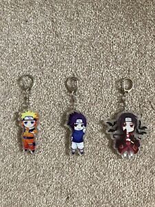 UK Seller Naruto Japanese Manga Anime Keyring Keychain 6CM Acrylic