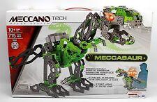 Meccano Tech 3-ft MECCASAUR Programmable Robotic Dinosaur 16304 Set