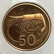 Iceland 50 Aurar KM 26 Gem PF 1981