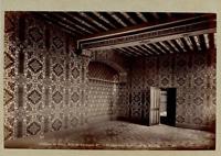 N.D., France, Château de Blois, Chambre de Catherine de Médicis  Vintage albumen