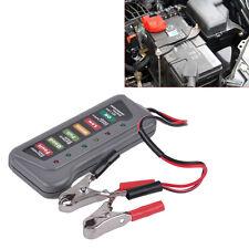 12V LED Auto Batterie Licht Anzeige Digitale Generator TestgerAt Motorrad Tester