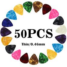 Guitar Picks Thin Light Soft Gauge Assorted Pearl Variety Sampler