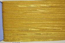 10mm Gold Satin Piping Edge
