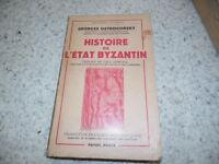 1956.Histoire de l'état byzantin.Ostrogorsky