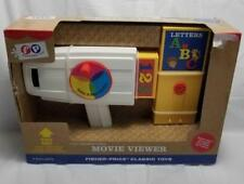 Fisher Price Classic Toys Movie Viewer Includes 2 Cartridges Letters & Numbers