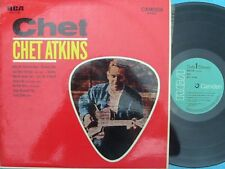 Chet Atkins ORIG OZ LP Chet EX '67 RCA CAS2182 Country boogie