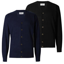 Marks and Spencer Men's Regular Thin Knit Jumpers & Cardigans