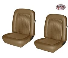 1968 Mustang COUPE Front Bucket Seat Upholstery Nugget Gold - Made by TMI in USA