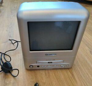 "Roadstar 10"" Colour Superflat TV With DVD Player Portable Caravan TVD1052"