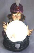 Fortune Teller Crystal Ball Animated Motion Purple Wiccan Home Decor Gypsy