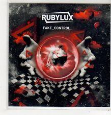 (FF739) Rubylux, Fake Control - 2010 DJ CD