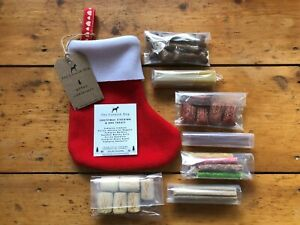 Christmas Dog Stocking Gift For Dogs | With 7 Packs of Dog Treats | Handmade UK