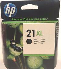 HP 21XL Genuine Original High Yield Black Original Ink Cartridge (C9351CE) NEW