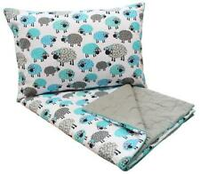 ECO Natural Cotton Baby bedding SET Cot bed Duvet 140 x 100 cm + Pillow 40x60 cm