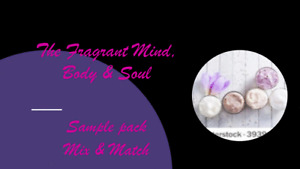 The Fragrant Mind Handmade Luxuries,Mix & Match,buy 5 samples get 2 free