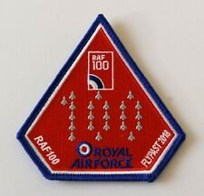 More details for royal air force typhoon aircraft - 100 anniversary flypast facs cloth patch