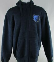Memphis Grizzlies NBA G-III Men's Blue Winter Full-Zip Hoodie