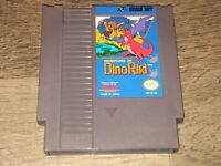 Adventures of Dino-Riki Nintendo Nes Cleaned & Tested Authentic