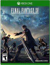 Final Fantasy XV USED SEALED (Microsoft Xbox One, 2016) 15