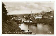 RPPC - Fort Augustus, Scotland, PS Gondolier Leaving the Locks - Circa 1910