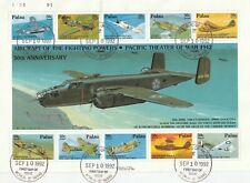 PALAU 10 SEPTEMBER 1992 THE PACIFIC THEATRE OF WAR OVERSIZED FIRST DAY COVER