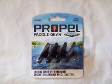 Slpg40021 Shoreline Marine Propel Paddle Gear Kayak Lashing Hooks Bungee Kit 252