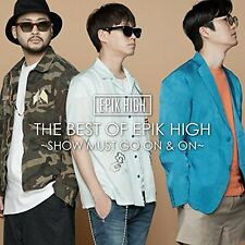 EPIK HIGH-THE BEST OF EPIK HIGH- SHOW MUST GO ON AND ON--JAPAN CD  G61
