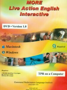 More Live Action English Interactive TPR on a Computer DVD Romijn, Seely ESL