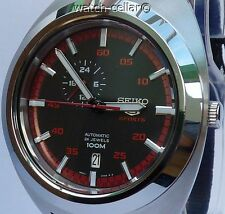 SEIKO 5 SPORTS BRAND NEW MENS RETRO AUTOMATIC 24 JEWEL WATCH SSA287K1