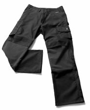 "Genuine Mascot Lerida Work Trousers Black With Kevlar® Knee Pad Pockets 38"" Reg"