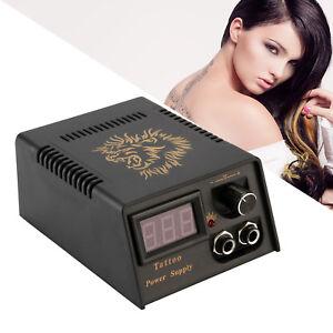 Pro High Stability Digital LCD Tattoo Power Supply for All Tattoo Gun Machine