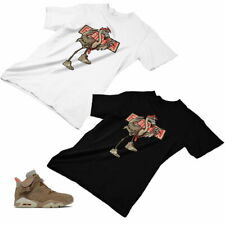 Jordan 6 British Khaki Custom Designed T shirt / hoodie JD 6-26-21