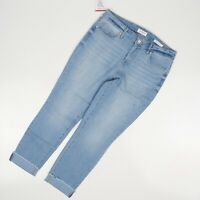 "Jessica Simpson Womens Blue Relaxed Skinny Crop Jeans  Size 8* 29"" NWT"