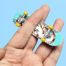 Funny Kid Children Mini Finger Board Deck Truck Skateboard Figures Tech Boy Toy