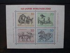 GERMANY BERLIN 1969 Berlin Zoo. SOUVENIR SHEET. Mint Never Hinged. SGMSB332.