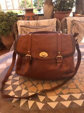 Massimo Dutti Leather Bag Brown Fabulous Zips And Closures